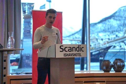 SPENNENDE: Kristian Fagerli (22) ser frem til nye oppgaver det neste året.