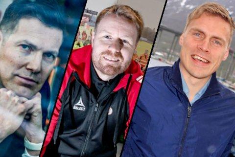 TRI SIER NEI:  Øyvind Alapnes, Tom Høgli og Ruben Yttergård Jenssen.