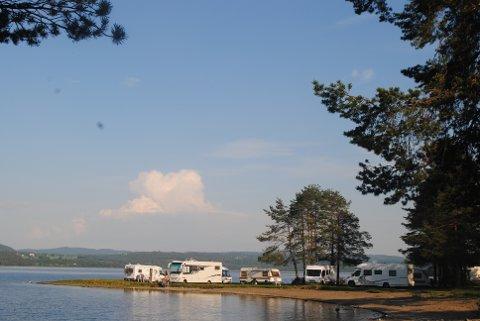 MANGE BESØK: Sveastranda Camping i Redalen registrerte 49.000 gjestedøgn i 2016.