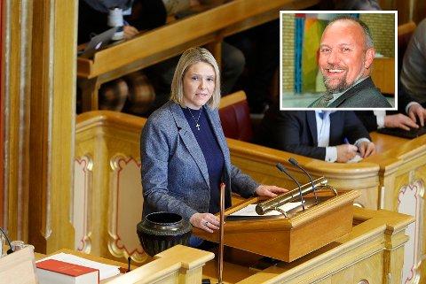Stortingsrepresentant Morten Ørsal Johansen fra Raufoss og Land synes ikke justisminister Sylvi Listhaug burde ha bedt om unnskyldning.
