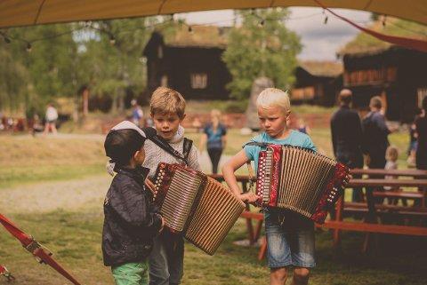 REKRUTTERING: Jørn Hilme-stemnet har jobbet mye for rekrutteringen til tradisjonsmusikken. Foto: Anne Marte Før