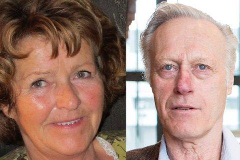 GJØVIK OG JAREN: Tom Hagen er fra Jaren, der han vokste opp i en stor søskenflokk. Anne-Elisabeth Falkevik Hagen er opprinnelig fra Gjøvik.