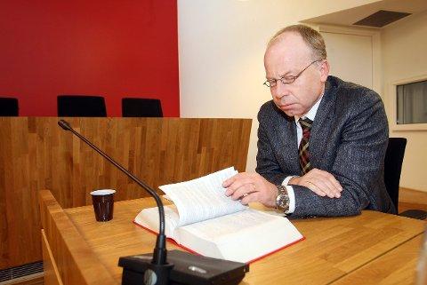 BOSTYRER: Harald Jahren hos Advokatkollegium i Ski er oppnevnt som bostyrer til Kantinehuset AS.