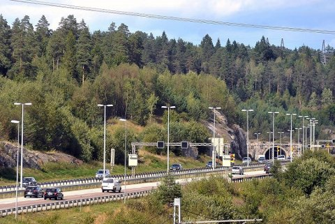 FORSINKET: Follotunnelen er blitt kraftig oppgradert de siste årene. Tunnelen nattestenges to netter denne uken.