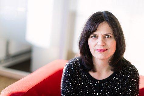OMSTILLING: Regiondirektør I Oslo og Akershus Nina Solli er glad for at pilene igjen peker oppover for bedrifter medlem av NHO.