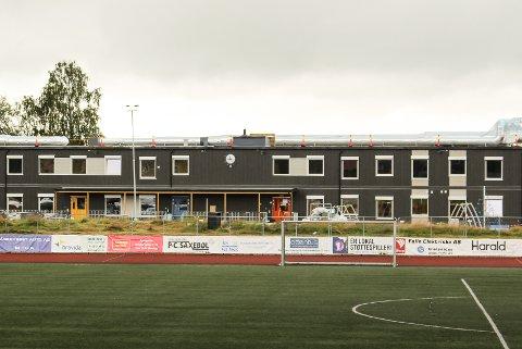 Her skal elever fra Rustad skole være frem til august 2019.