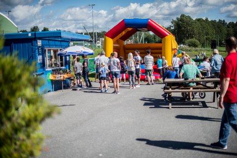 Hoppeslottet vil også i år være på plass under Aktivitetsdagene.