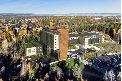 HALVERT: Seks etasjer er kuttet, antall rom redusert fra 200 til 105 og utnyttelsesgraden halvert i den siste forslaget til hotell ved The Well.