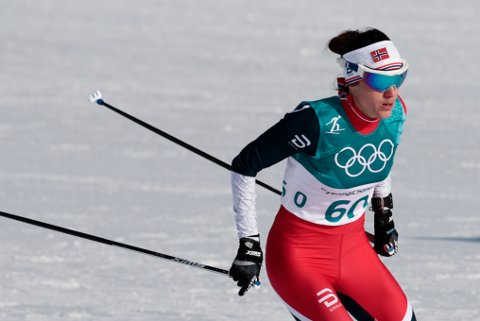 Heidi Weng har ikke hatt full klaff i OL. Etter fire strake mesterskapsstafetter må hun nå se OL-stafetten på sidelinjen. Her fra onsdagens 10 km fri der hun endte på en 11. plass.