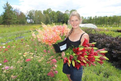 BLOMSTER: Sammen med venninnen Anja driver Ida Blomsterhagen på Abildsø.