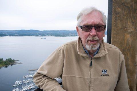 LOT SEG IKKE LURE: Odd Richard Jacobsen skjønte fort at det var telefonsvindlere som var på tråden.