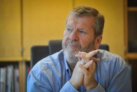 ALVORLIG: Ordfører Tom Anders Ludvigsen ser svært alvorlig på smittesituasjonen i kommunen sin akkurat nå.