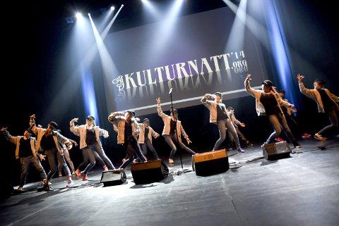 Kulturnatt: Den andre lørdagen i november er det hvert år Kulturnatt i Larvik. Her kan man oppleve det lokale kulturlivet, samt noen gjester, i fri utfoldelse.arkivfoto