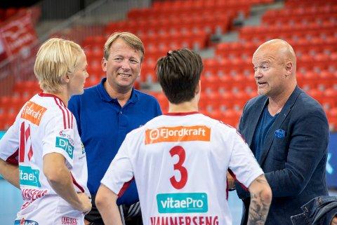 Sentrale i larvik HK: Harald Gaupen, Per Christian Andersen, Gro Hammerseng-Edin og Anja Hammerseng-Edin.