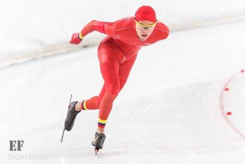 LEVERTE: Carlos Wasvik vurderte å legge opp før sesongen. I helgen satte han tre nye personlige rekorder.