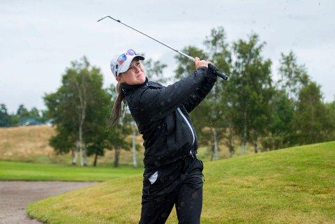 SLET: Mariell Bruun hadde ingen god tredje dag i kvalifiseringsfinalen, som hun gikk på to over par.