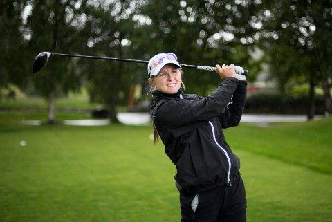 TRYGT VIDERE: Mariell Bruun kvalifiserte seg greit til kvalikfinalen om en plass på Ladies European Tour neste sesong.