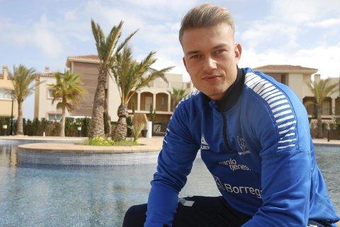 OPPKJØRING: Kristoffer Normann Hansen er for tiden på treningsleir i Marbella i Spania sammen med SF.