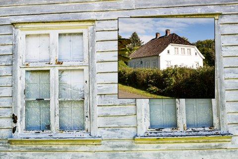 Forfaller: Vakre Gumserød gård forfaller stadig mer. Vestfold fylkeskommunes kulturarvseksjon har nå slått fast at anlegget har høy bevaringsverdi.