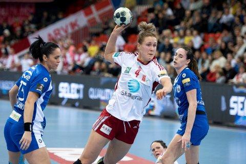 Forlater LHK: Marit Malm Frafjord er, i likhet med Amanda Kurtovic, klar for CSM Bucuresti.