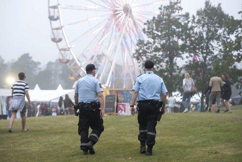 Kastet ut: Mannen ble tatt på Stavernfestivalen med to joints i lomma. Arkivfoto