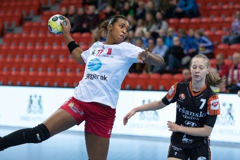 Tamires Morena Lima De Araújo ble kåret til Larviks beste spiller i kampen
