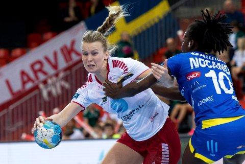 Mari Finstad Bergum, LHK-Metz, Metz, LHK, CL, Champions League, Larvik HK, Larvik Håndball, håndball, Boligmappa Arena