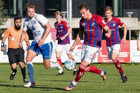 Jone Rugland, her fra oppgjøret mellom Fram og Oppsal i fjor, møter gamleklubben i 1. serierunde. (Arkivfoto: Joachim Hellenes)