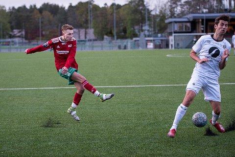 Christer Smith, Halsen-Mjøndalen 2, Halsen IF, Halsen fotball, herrelag, 3. divisjon, Bergeskogen, 3. div