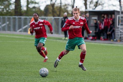 ADAM KRYSTIAN BLUMA, Halsen-Mjøndalen 2, Halsen IF, Halsen fotball, herrelag, 3. divisjon, Bergeskogen, 3. div