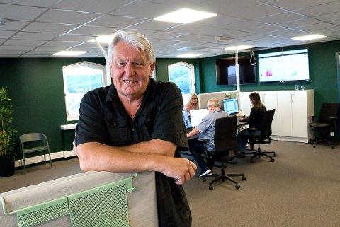 SLUTTER: Ansvarlig redaktør i Østlands-Posten, Terje Svendsen (63), ga i dag beskjed til de ansatte om at han går av med pensjon og gir seg som redaktør.