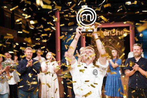 HELT SJEF: Truls Torp Karlsen vant den store kokkekonkurransen  MasterChef Norge onsdag kveld.
