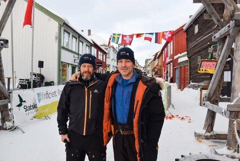 Espen Tønseth og Are Lerstein. Foto: Tore Hilmarsen