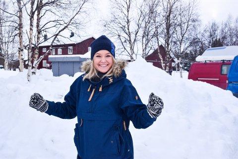 En hjernerystelse på fjellet er én av grunnene til at Camilla Botilsrud Sagen er med som handler under årets Femundløp. Alt det andre er en gedigen kjærlighetshistorie til sporten. Foto: Tore Hilmarsen