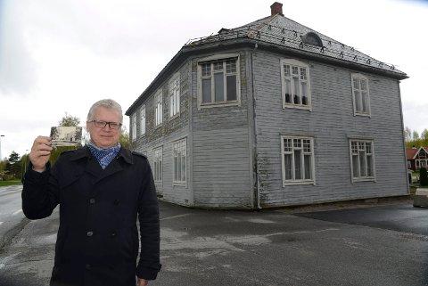 GÅR AN: – Det går an å redde Bjørke og få bygget på beina igjen, sier Geir Thomas Risåsen.