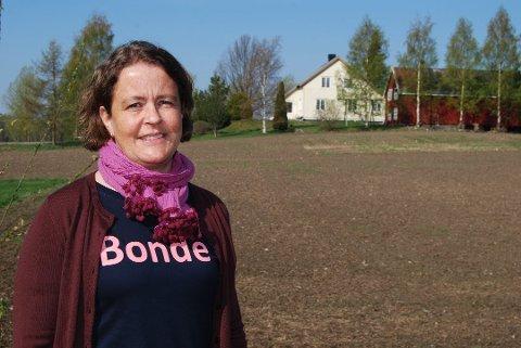Leder i Hedmark Bondelag, Elisabeth Gjems.