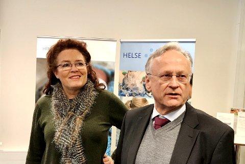 BLIKKET MOT MOELV: Styreleder i Helse Sør-Øst, Svein Gjedrem, omtaler Mjøssykehuset i Moelv som hovedalternativet i videre utredninger. Styremedlem Vibeke Limi holder mulighetene oppe for andre løsninger