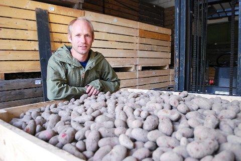 Åsmund Bjertnæs er daglig leder for en virksomhet som går svært godt.