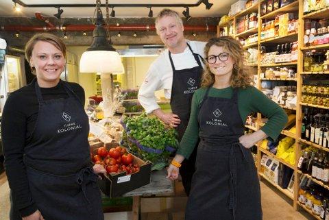 Signe Jensen, Kim Wiuff og Linn Mjelde hadde et godt år i fjor, med driftsinntekter på over to millioner mer enn tidligere. Med det har kolonialen blitt noe annet enn Mjelde og Wiuff så for seg da de startet i 2016.