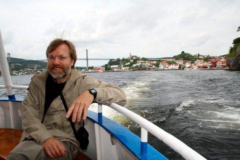 Øystein Lie i kommunens kulturavdeling har fått ansvar for å følge opp Brevik og Sandøya i sammenheng med «60+»-prosjektet.