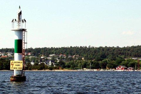 Det skal sprenges for  plass til nye sjømerker i Gamle Langesund.
