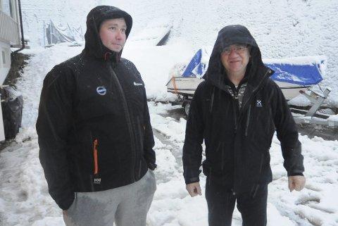 Ordfører Hallgeir Kjeldal har vært i møte for å hjelpe Stig-Magne Larsen videre i saken i Siljanbukta.