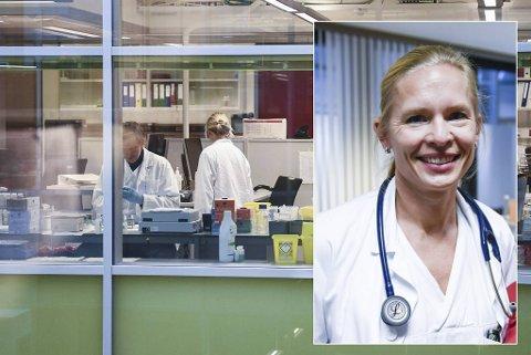 BA har spurt tre eksperter om hvor lenge smittespreningen og tiltakene fra myndighetene vil vedvare. Blant dem, overlege ved Haukeland Universitetssykehus Kristin Greve Isdahl-Mohn (avbildet).