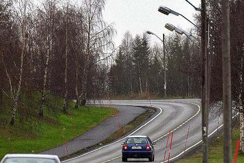 MØRKT: Det planlegges å stenge gatelysene på natta. Foto: Øyvind Bratt