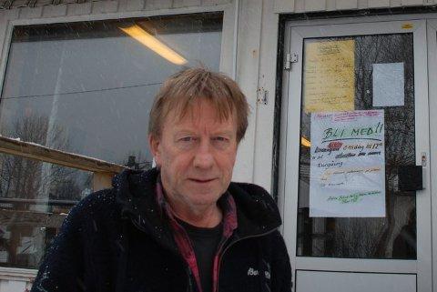 Misfornøyd: Daglig leder Eivind Jentoft er misfornøyd med hvordan Nesna kommune behandler lønnsproblemet på Vårres Plass.FOTO: Øyvind Bratt
