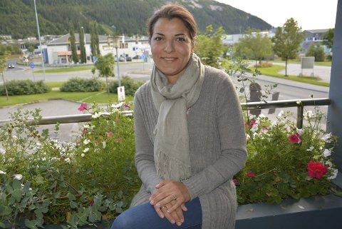 Innvandrerbakgrunn: Maria Saltirova Rausandaksel vil ha flere innvandrere på den politiske arena.Foto: Viktor Leeds Høgseth