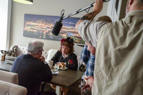 GJØR TV-PILOT: Siw Anitas pilot til en TV-mockumentar spilles inn denne helga i Mo i Rana.foto: Ida Madsen Hestman
