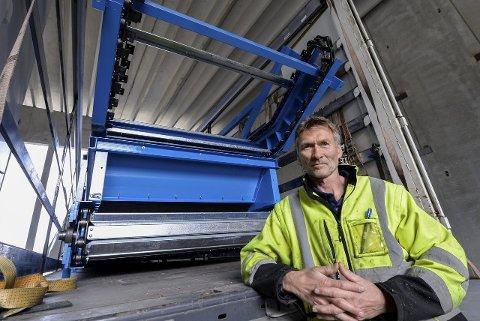 Trond Jøran Pedersen, leder i Østbø AS, melder at de nå er sammenslått med SAR og overtar deres virksomhet i Mosjøen.