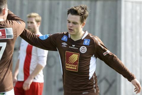 Fredrik Rise har vist seg fram i den engelske klubben Witton Albion nå på nyåret. Om få uker venter et nytt opphold i en engelsk klubb.