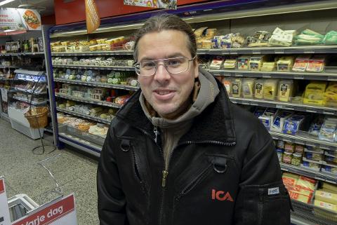 Eier av Ica Fjällboden, Nils Wikberg, driver den mest lønnsomme ICA-butikken i Sverige. Foto: Lisa Ditlefsen